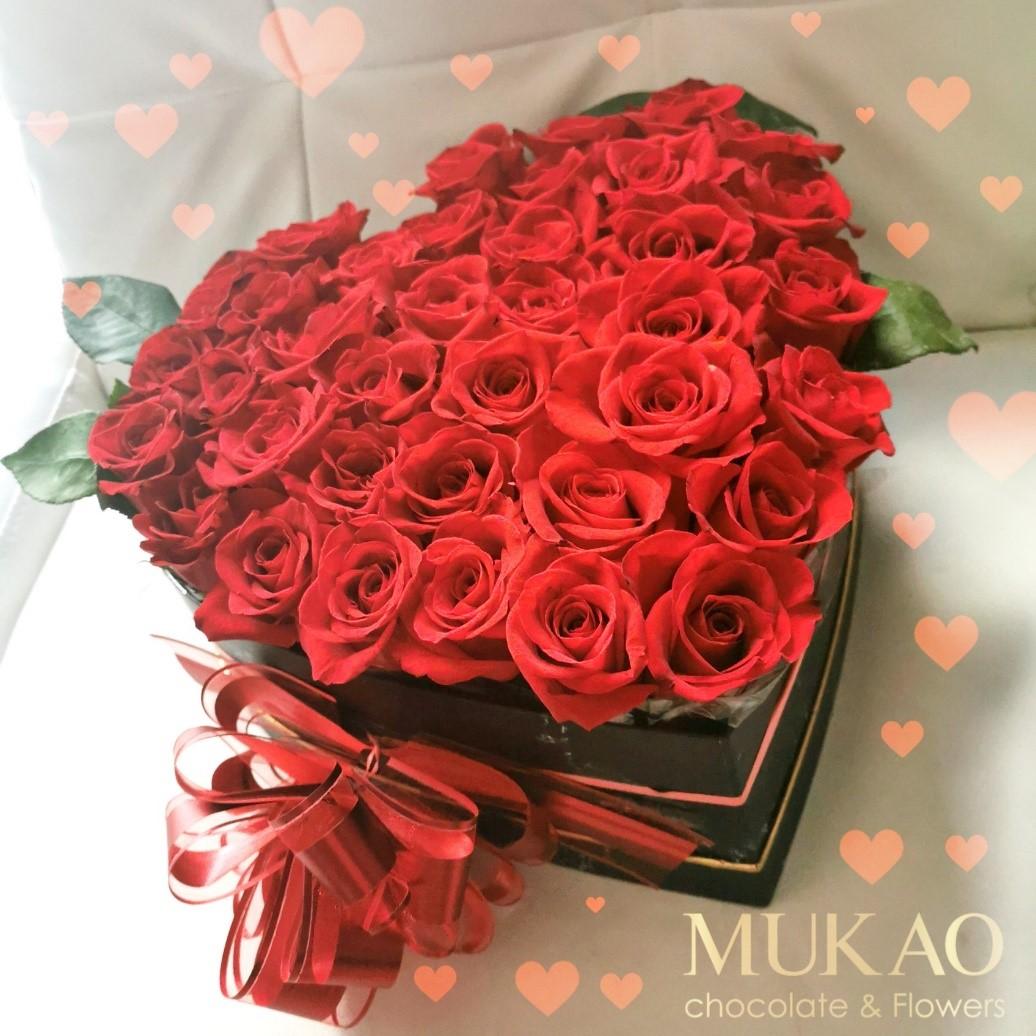 100-rosas-en-forma-de-corazon