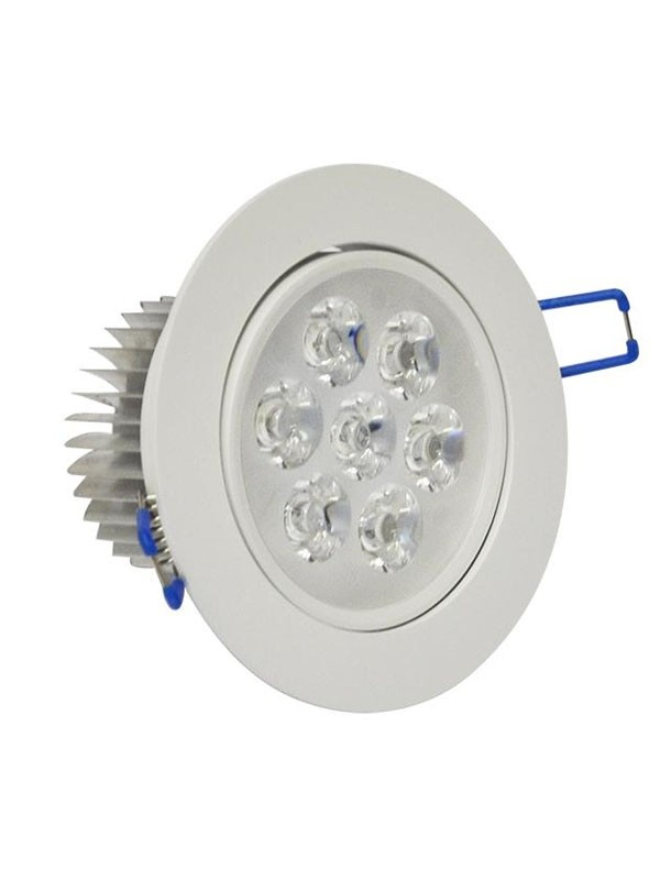 ojo-de-buey-led-7w-borde-gris-110v-luz-calida